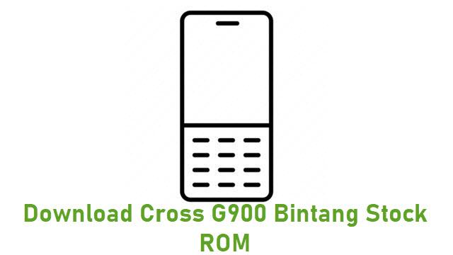 Download Cross G900 Bintang Stock ROM