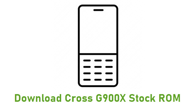 Download Cross G900X Stock ROM