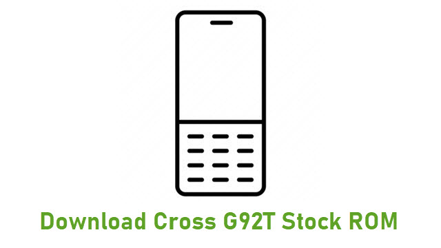 Download Cross G92T Stock ROM