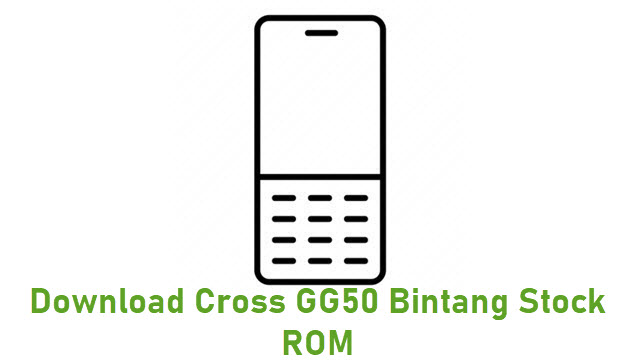Download Cross GG50 Bintang Stock ROM