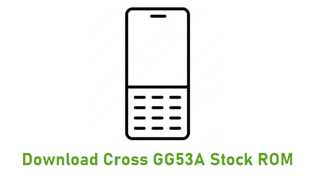 Download Cross GG53A Stock ROM