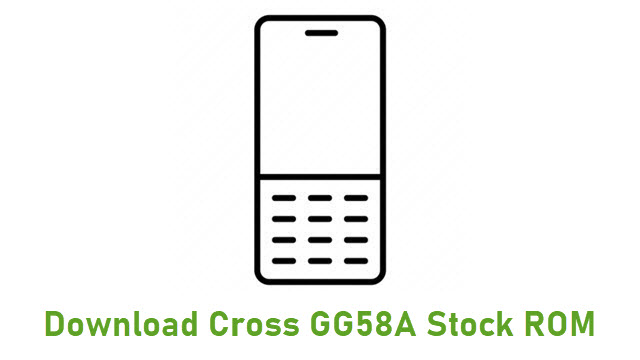 Download Cross GG58A Stock ROM