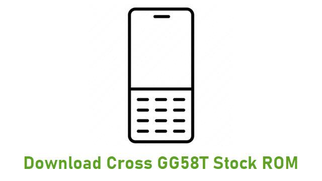 Download Cross GG58T Stock ROM