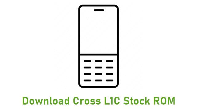 Download Cross L1C Stock ROM