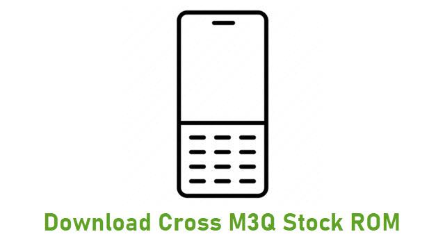 Download Cross M3Q Stock ROM