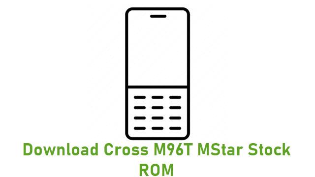 Download Cross M96T MStar Stock ROM