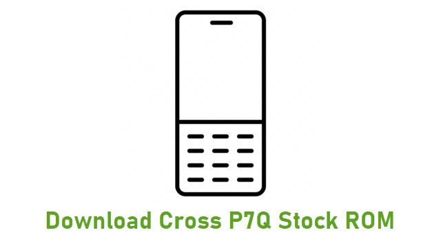 Download Cross P7Q Stock ROM