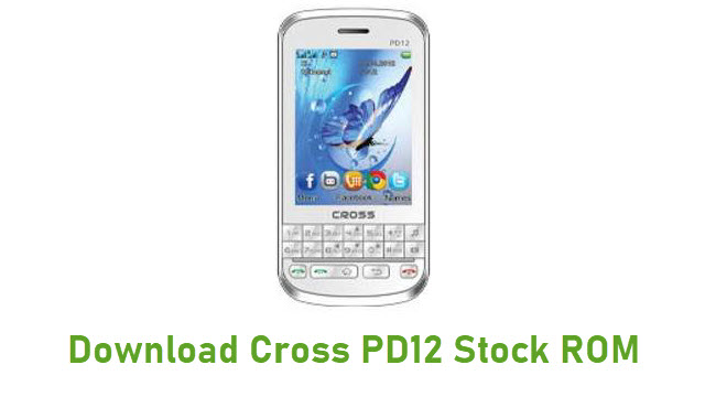 Download Cross PD12 Stock ROM