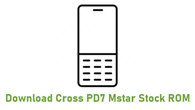 Download Cross PD7 Mstar Stock ROM