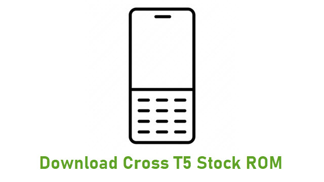 Download Cross T5 Stock ROM