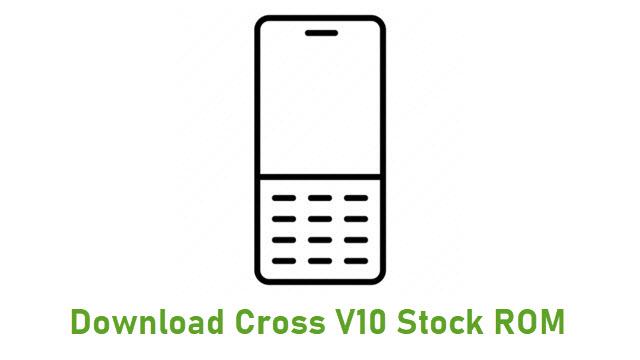 Download Cross V10 Stock ROM