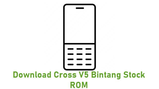 Download Cross V5 Bintang Stock ROM