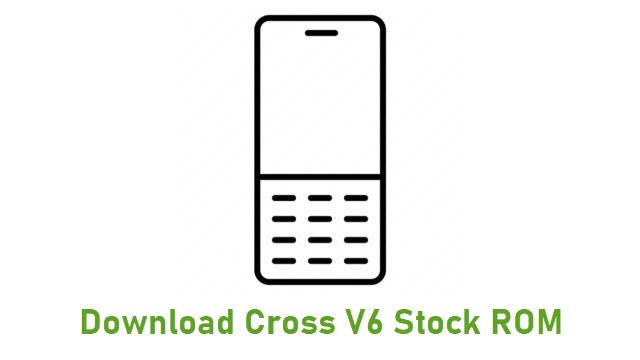 Download Cross V6 Stock ROM