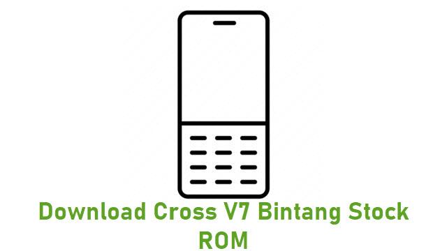 Download Cross V7 Bintang Stock ROM