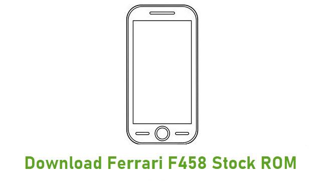 Download Ferrari F458 Stock ROM