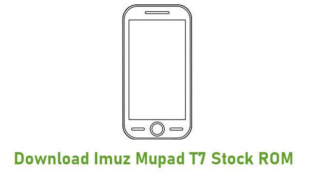 Download Imuz Mupad T7 Stock ROM