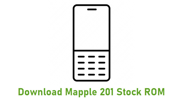 Download Mapple 201 Stock ROM