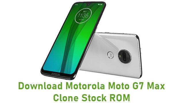 Download Motorola Moto G7 Max Clone Stock ROM