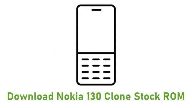 Download Nokia 130 Clone Stock ROM