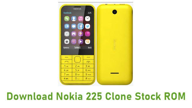 Download Nokia 225 Clone Stock ROM