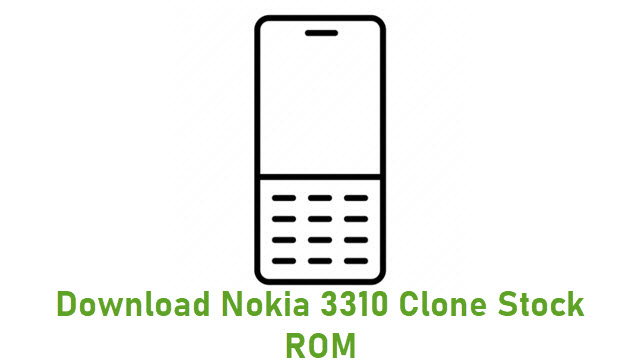 Download Nokia 3310 Clone Stock ROM