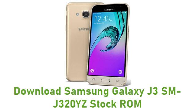 Download Samsung Galaxy J3 SM-J320YZ Stock ROM