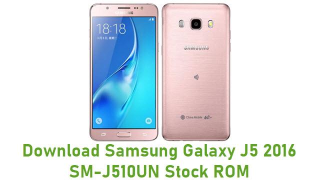 Download Samsung Galaxy J5 2016 SM-J510UN Stock ROM