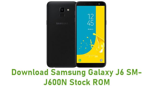 Download Samsung Galaxy J6 SM-J600N Stock ROM