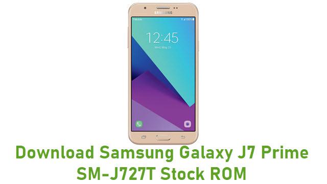 Download Samsung Galaxy J7 Prime SM-J727T Stock ROM