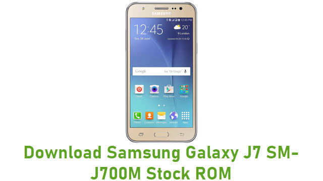 Download Samsung Galaxy J7 SM-J700M Stock ROM
