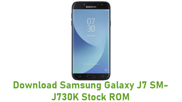 Download Samsung Galaxy J7 SM-J730K Stock ROM