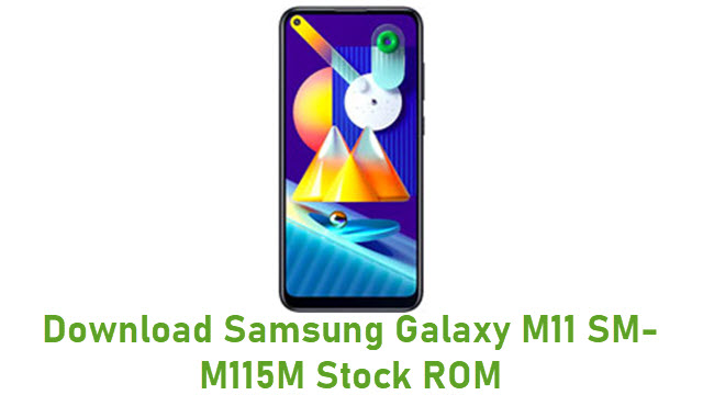 Download Samsung Galaxy M11 SM-M115M Stock ROM