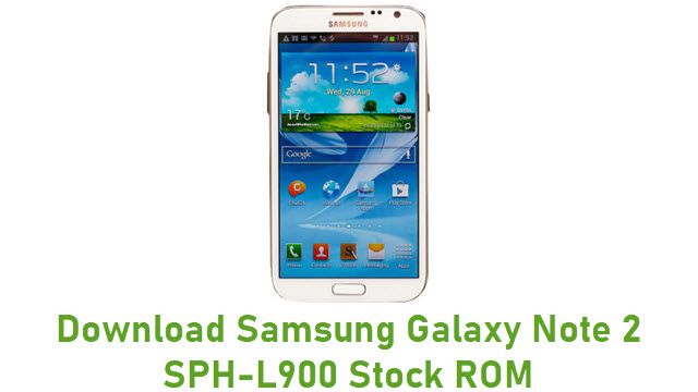 Download Samsung Galaxy Note 2 SPH-L900 Stock ROM