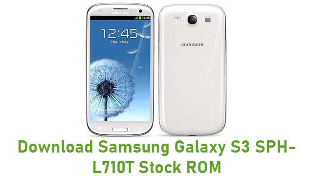 Download Samsung Galaxy S3 SPH-L710T Stock ROM