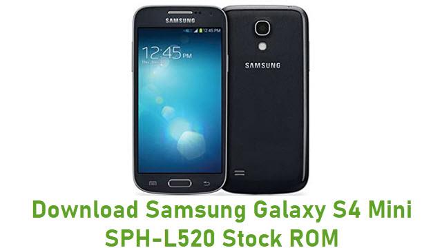 Download Samsung Galaxy S4 Mini SPH-L520 Stock ROM