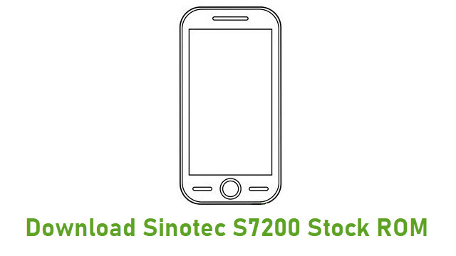 Download Sinotec S7200 Stock ROM