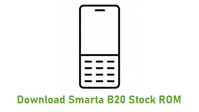 Download Smarta B20 Stock ROM