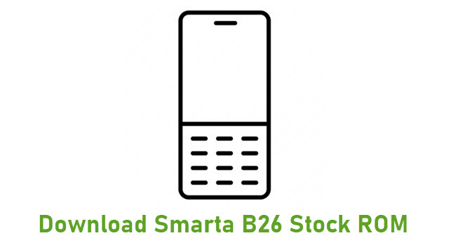 Download Smarta B26 Stock ROM