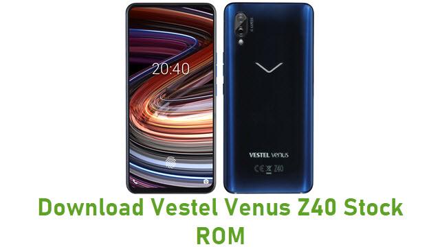 Download Vestel Venus Z40 Stock ROM