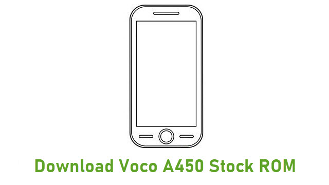 Download Voco A450 Stock ROM