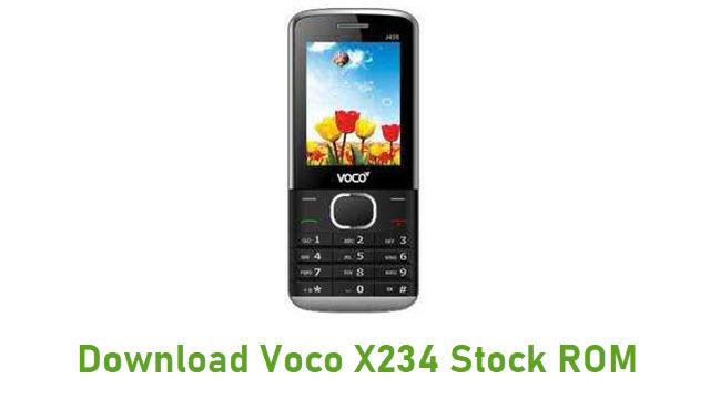 Download Voco X234 Stock ROM