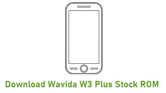 Download Wavida W3 Plus Stock ROM