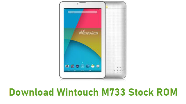 Download Wintouch M733 Stock ROM