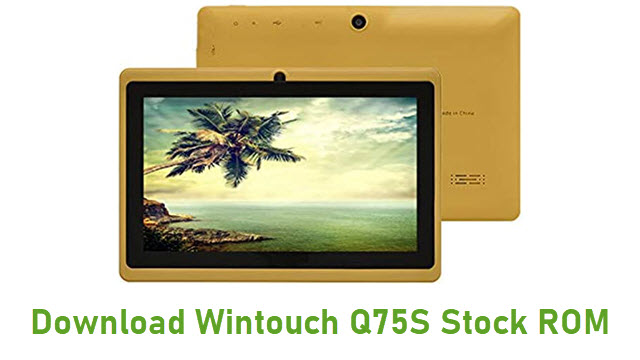 Download Wintouch Q75S Stock ROM