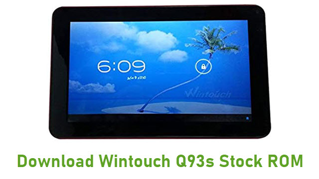 Download Wintouch Q93s Stock ROM