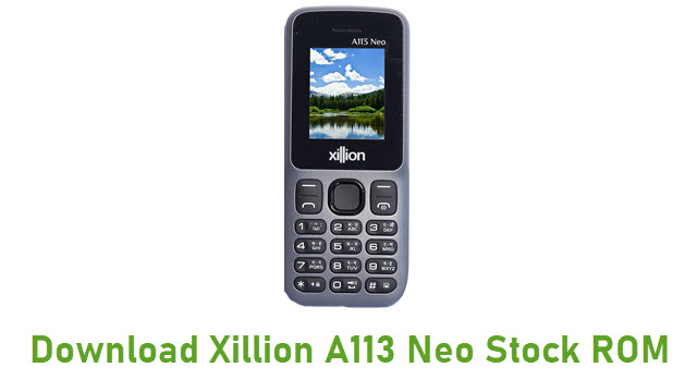 Download Xillion A113 Neo Stock ROM