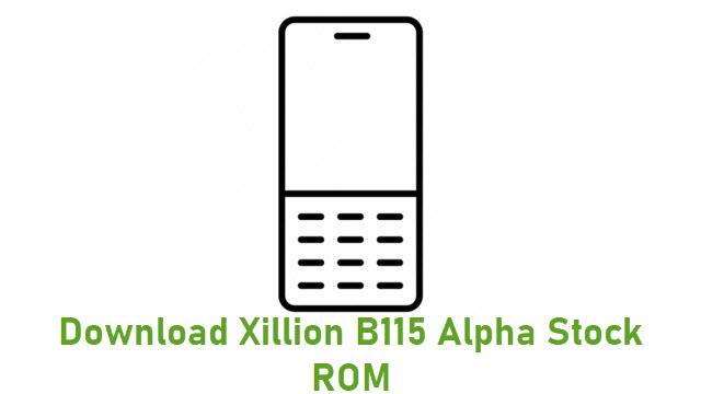 Download Xillion B115 Alpha Stock ROM