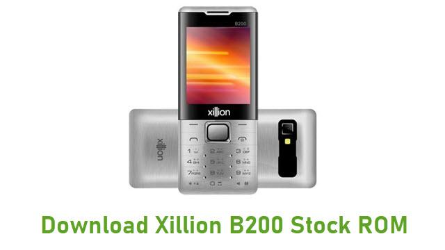 Download Xillion B200 Stock ROM
