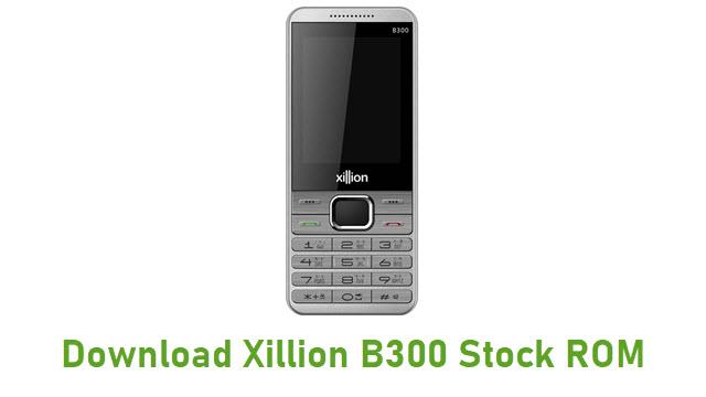 Download Xillion B300 Stock ROM