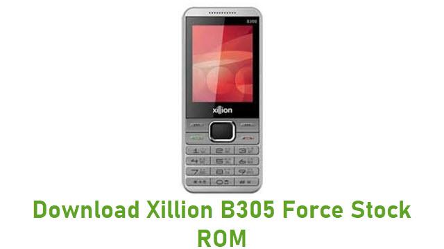 Download Xillion B305 Force Stock ROM